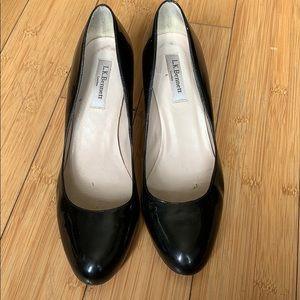 LK Bennett black Patent Leather Heels